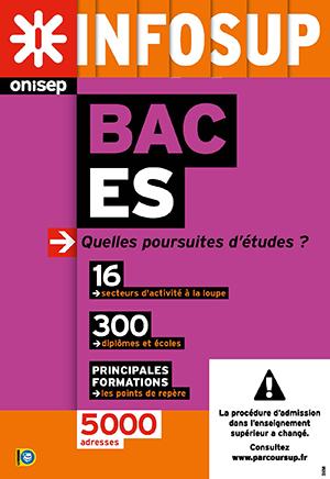 Bac ES, quelles poursuites d'études ? , collection Infosup