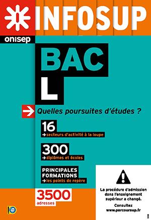 Bac L, quelles poursuites d'études ?, collection Infosup