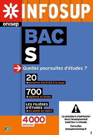 Bac S, quelles poursuites d'études ?, collection Infosup