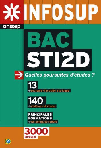 Bac STI2D, quelles poursuites d'études ? , collection Infosup