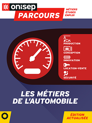 Les métiers de l'automobile, collection Parcours