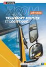 Les métiers du transport routier et de la logistique, collection Zoom sur les métiers